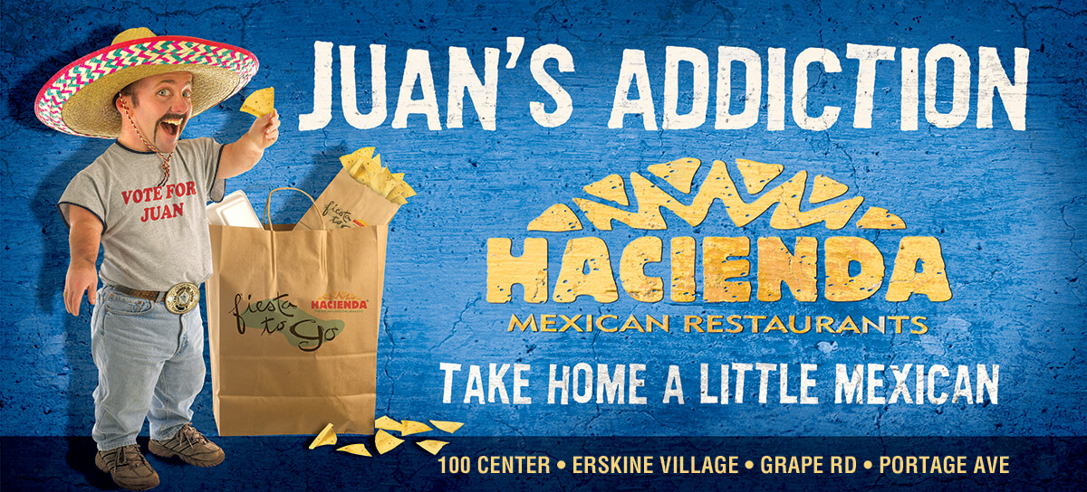 Billboard: Juan's Addiction - Take Home a Little Mexican