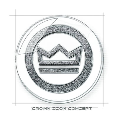 Crown Icon Concept
